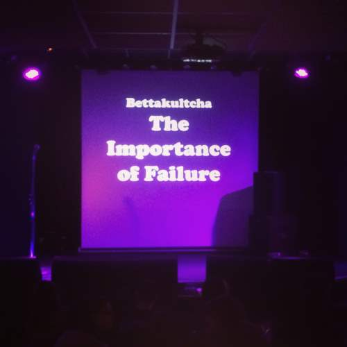 The Importance of Failure